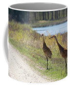 Two Cranes Coffee Mug