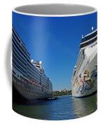 Two Cruise Ships Coffee Mug