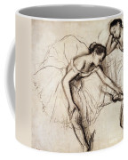 Two Dancers Resting Coffee Mug by Edgar Degas