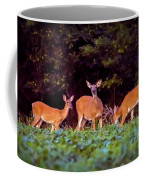 Two Doe And One Buck Coffee Mug