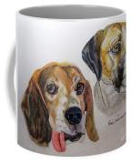 Two Dogs Coffee Mug