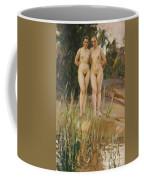 Two Friends  Coffee Mug by Anders Leonard Zorn