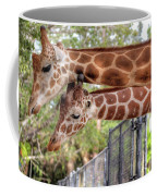 Two Giraffes Coffee Mug