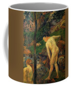 Two Girls Bathing 1887 Coffee Mug