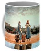 Two Girls On The Beach Coffee Mug