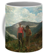 Two Guides Coffee Mug by Winslow Homer