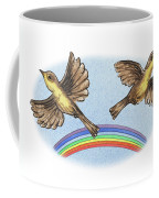 Two Happy Birds Coffee Mug
