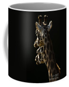 Two Headed Giraffe Coffee Mug