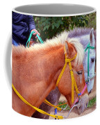 Two Horses Coffee Mug
