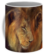 Two Lions Coffee Mug