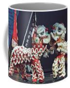Two Lions Kung Fu Club Coffee Mug