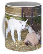 Two Little Goatlings Coffee Mug
