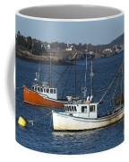 Two Lobster Boats Coffee Mug