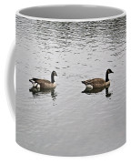 Two Lovely Canadian Geese Coffee Mug