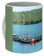 Two Masted Antique Coffee Mug by Sally Sperry