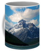Two Medicine Lake And Rising Wolf Mountain Coffee Mug