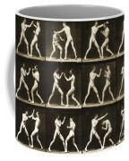 Two Men Boxing Coffee Mug