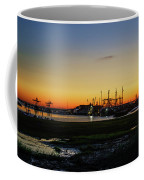 Two Mile Landing At Sunrise - Wildwood Crest New Jersey Coffee Mug