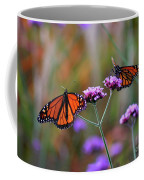 Two Monarchs Sharing 2011 Coffee Mug
