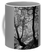Two Monochrome Tress Coffee Mug