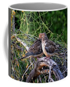 Two Mourning Doves H14 Coffee Mug