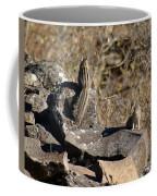 Two Munks On The Rocks Coffee Mug