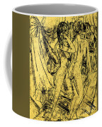Two Nudes At The Window Coffee Mug
