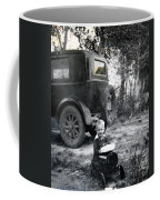 Two Old Cars Coffee Mug