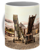 Two Old Conveyor Belts Coffee Mug