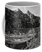 Two Peaks - Bw Coffee Mug