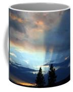 Two-pine Sunset Coffee Mug