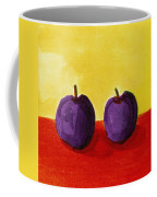 Two Plums Coffee Mug