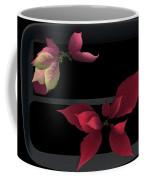 Two Poinsettias Coffee Mug