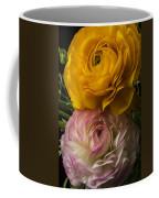 Two Ranunculus Coffee Mug