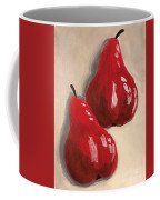 Two Red Pears Coffee Mug