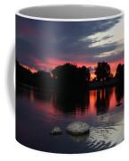 Two Rocks Sunset In Prosser Coffee Mug by Carol Groenen