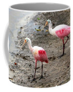 Two Roseate Spoonbills Coffee Mug