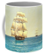 Two Royal Navy Corvettes On Patrol In The Southern Ocean Coffee Mug