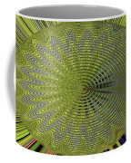 Two Saguaro Abstract #4496w3 Coffee Mug