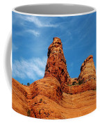 Two Sisters Formation Sedona Az Hbn2 Coffee Mug