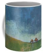 Two Sisters Houses Coffee Mug