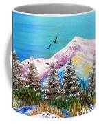 Two Soaring Birds Coffee Mug