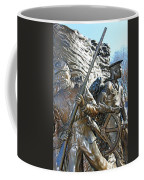 Two Soldiers Of The The African American Civil War Memorial -- The Spirit Of Freedom Coffee Mug