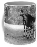 Two Stripes In Black And White Coffee Mug