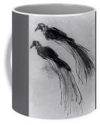 Two Studies Of A Bird Of Paradise 1630 Coffee Mug