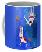 Two Swimmers Coffee Mug