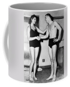 Two Swimming Stars Coffee Mug