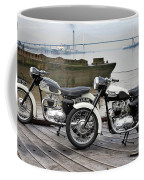 Two Tigers On The Thames Coffee Mug