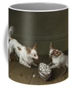 Two Toy Spaniels At A Sugar Bowl Coffee Mug
