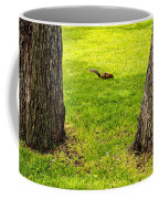 Two Trees And A Squirrel Coffee Mug